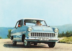Ford Taunus 12M (Germany) (aldenjewell) Tags: ford germany postcard taunus 12m