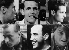 roseblanche : Schmorell, Probst, Hans Scholl, Graff, Huber, Sophie Scholl