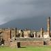 Pompeii Forum with Vesuvius