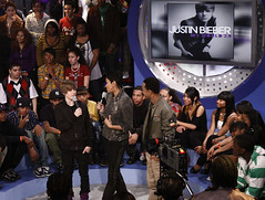 Monica & Justin Beiber on 106 & Park