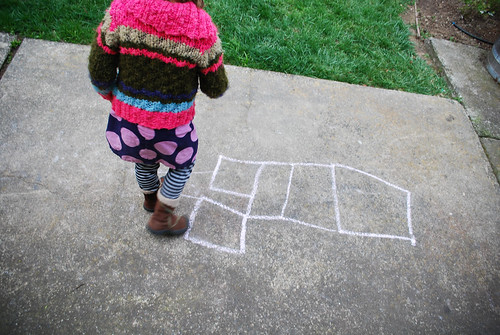 march :: this moment {hopscotch}
