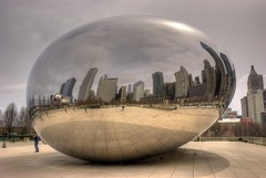 The Bean (Sabreur76) Tags: chicago geotagged illinois midwest milleniumpark theloop cloudgate thebean anishkapoor hdr vicen photomatix parkgrill abigfave nikond80 attplaza feli tamron18270 sabreur76 vicenfeli geo:lat=41882661 geo:lon=87623505