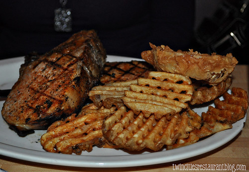Pork Chops at Norman Quacks