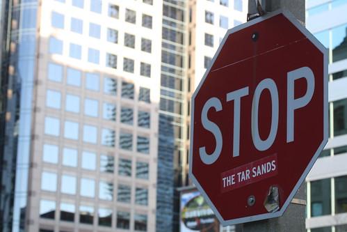 Stop the tar sands by Danielle Scott