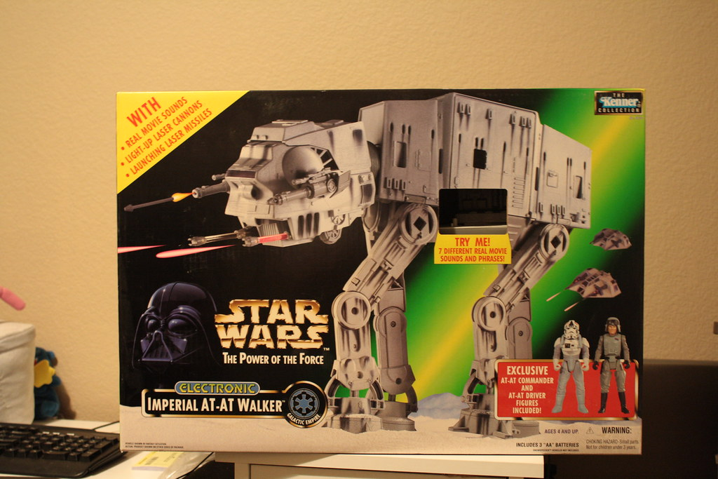 Saturday Night Collectibles At My Sis' House: Electronic Imperial AT-AT Walker