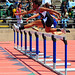 140JED_1598-100H-Hoover jr Jessica  Shelley shades teammate Chalandra Gooden and Lacey Dent over last hurdle