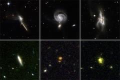 Galaxias fusionándose