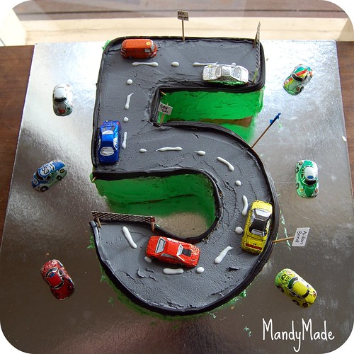 Little A's 5th Birthday Cake No 1