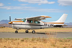 ZS-LDH Cessna 210 Centurion II (HANGAR ENT.) Tags: africa t photography flying photo desert aviation south  ii western cape zs ldh cessna spotting centurion 210 oudtshoorn faoh atphotography