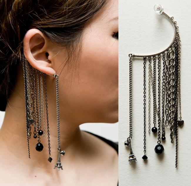 Fashion Infusion chain earwear 3