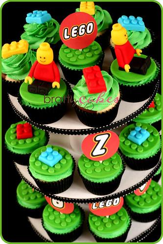 Lego Cupcake Tower