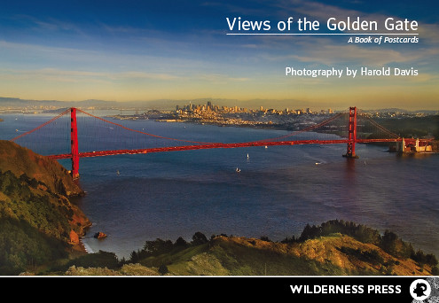 Golden Gate Postcard Book
