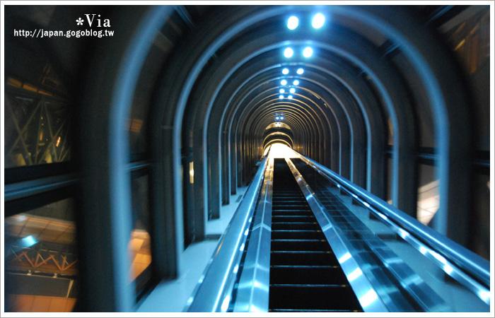 【大阪自由行】跟著via遊大阪~大阪梅田空中庭園展望台18
