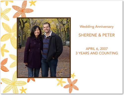 Sher & Pete  - Anniversary