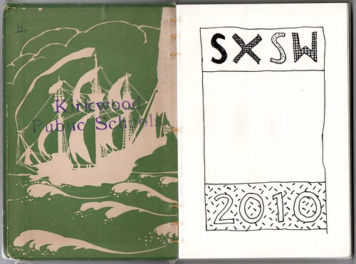 SXSW 2010 sketchbook