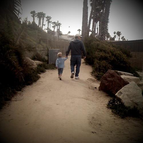 Grandpa and Pj