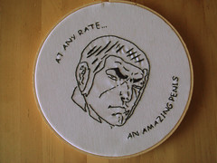 Duke Togo (benjibot) Tags: embroidery crafts comicbook golgo13 comicswap