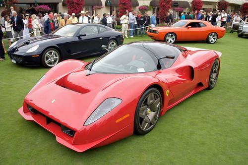 • Ferrari P4/5 by Pininfarina. Pebble Beach Concours. 2006-08-19 113031PM