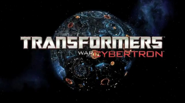 Screenshot Transformers War for Cybertron logo