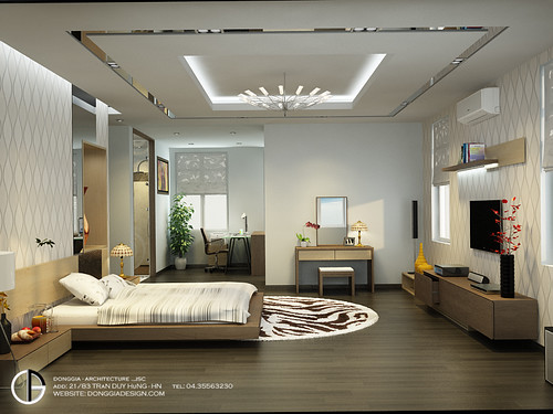 Villa Interior Design Master BedRoom