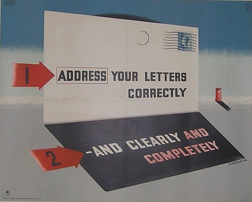 Address Your Letter Correctly