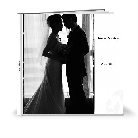 HB wedding photo book