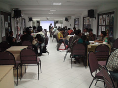 The workshop at ICAT Chennai