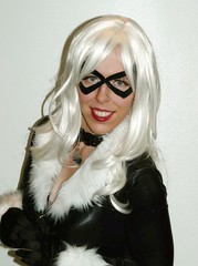 Black Cat (Roxanna Meta) Tags: blackcat comics costume comic cosplay marvel wondercon xcelsior wondercon2010
