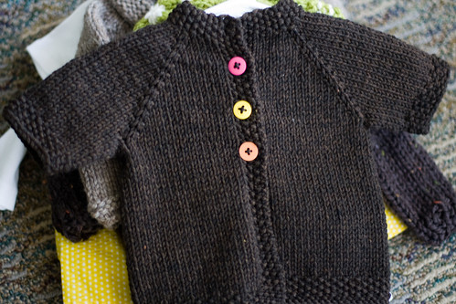 baby jane brown cardi