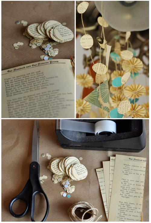 Eco diy wedding ideas poppytalk