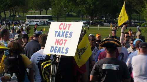 Cut Taxes Not Deals