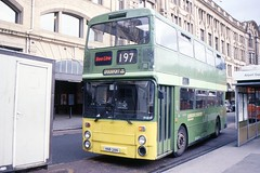And this bus belongs to...? (georgeupstairs) Tags: bus manchester used secondhand doubledecker leyland beeline victoriastation ribble 651 greatermanchestertransport atlantean londoncountry ncme northencounties an68 londoncountrysouthwest greatermanchesterpte hnb28n an386