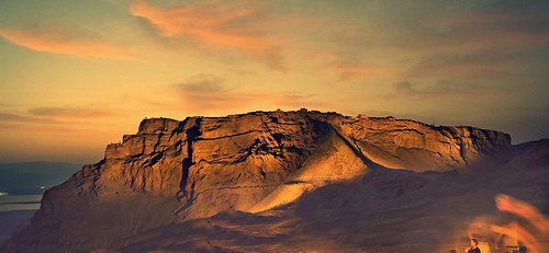 Amazing panorama of Masada at twilight by avinoam michaeli, on Flickr