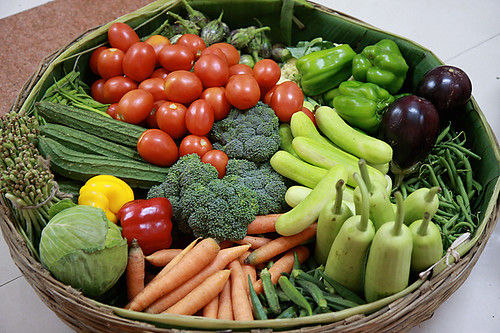 Vegetable Biriyani With Cucumber Mint Raita » DivineTaste