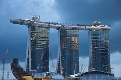 Marina Bay Sands Resort & Casino (ZawWai09) Tags: singapore casino resort countdown marinabay integratedresort threetowers explored marinabaysands flickrexplored resortcasino