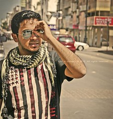 Peace...!!! (FoZiGraPhy) Tags: glasses cool nice peace sony saudi fozi  a350      albalawi