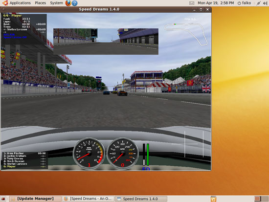 Speed Dreams en Ubuntu