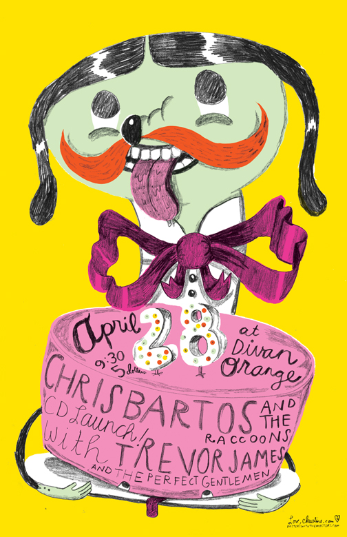 CHRIS BARTOS POSTER