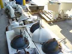 Plumbing Fixtures (Reuse Warehouse Houston) Tags: city white building green bill garbage day earth harry houston environmental warehouse management programming environment waste hayes recycling department parker materials sustainability solid reuse nonprofit reduce organizations annise