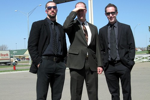 North Dakota Brothers in Suits