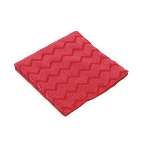 Rubbermaid Gen-purp Micro Fiber Cloth Red