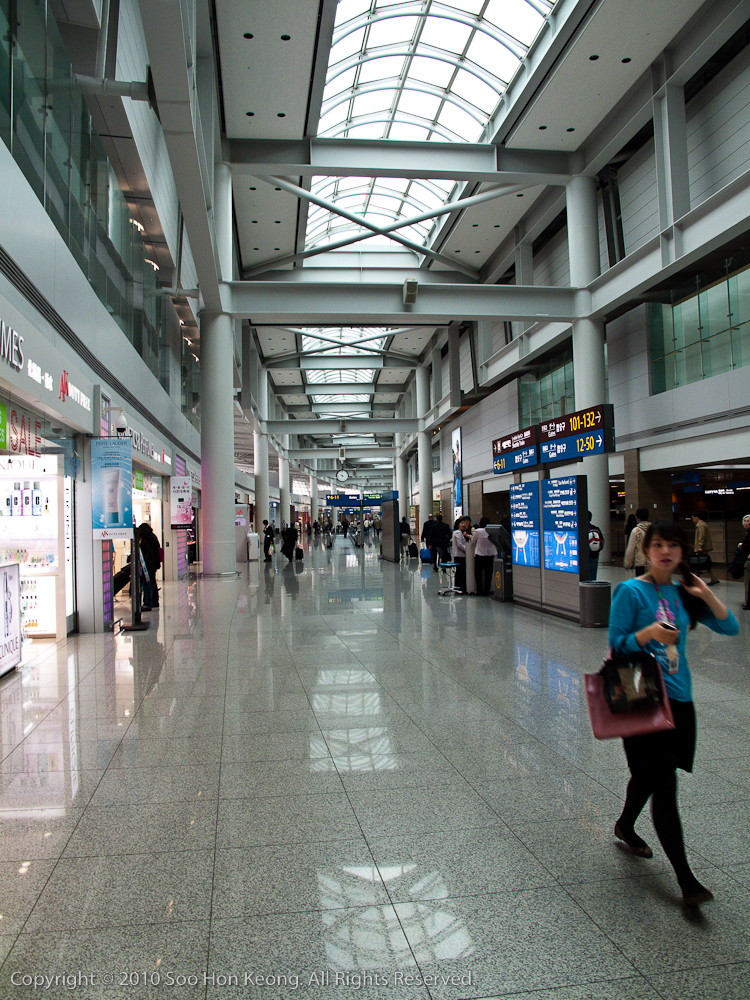 Seoul International Airport Incheon @ Seoul, Korea