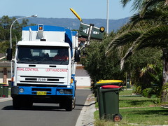the garbage truck (sth475) Tags: street urban truck garbage suburban australia bin lorry rubbish iveco wheeliebin