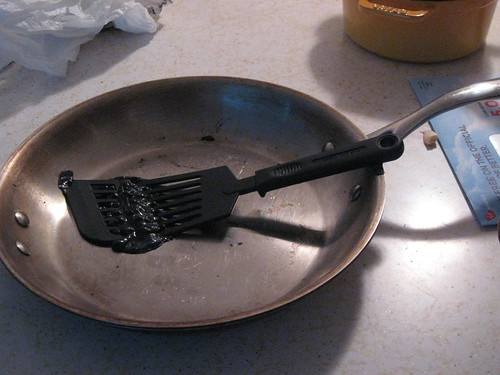 Spatula in Pan