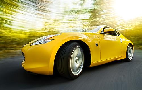 Nissan 370Z rolling shot