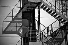 shadow... (iMac67) Tags: shadow black art stairs germany nikon technik treppe schatten industrie erlangen d5000 nikond5000 imac67 siemenserlangen