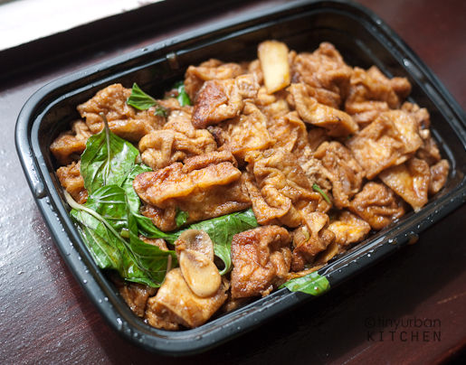 Three cup tofu