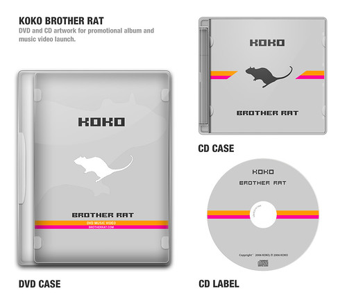 Koko CD and DVD splash