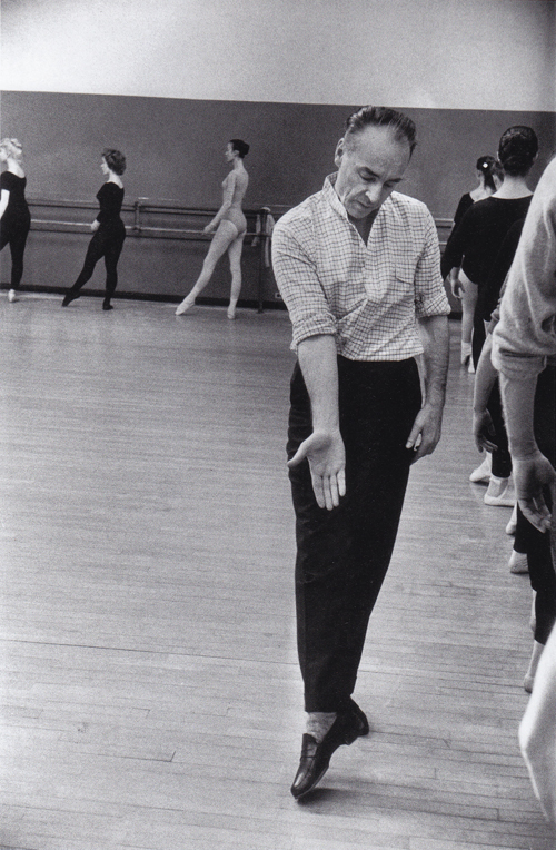 11 George Balanchine, New York. 1959