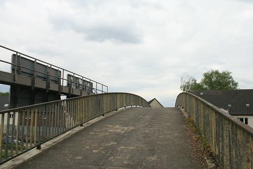 Fußgängerbrücke am Dreieck Essen-Ost